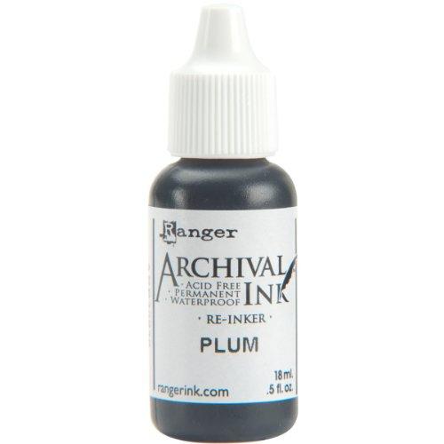 Plum Ink - Ranger ARR5-30836 Re-Inker Archival, Plum