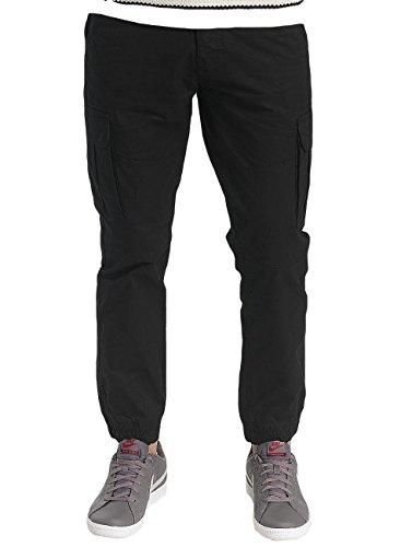 Pantalones solid Pantalones 6188103 Hombre Negro Negro solid Hombre 6188103 solid aqS0x1x