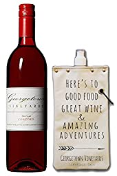 Georgetown Vineyards Concord & Canteen Gift Set, 1 x 750 mL Wine