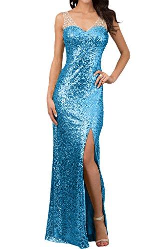 Ivydressing - Vestido - para mujer azul claro