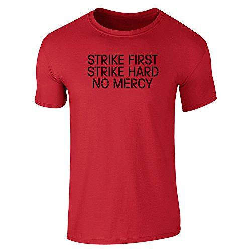 Strike First Hard No Mercy Cobra Kai Karate Kid Short Sleeve T-Shirt