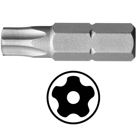T10 seguridad a prueba de manipulaci/ón kit de torsi/ón 30 resistente a da/ños y golpes 15 20 Ram-Pro 25 juego de puntas de destornillador Juego de 9 puntas Torx Star de 5 puntos 40,45,50 27 multifunci/ón