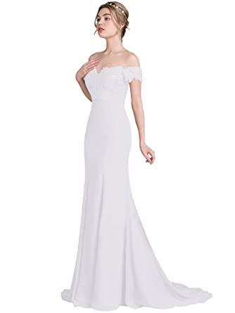 Jitong Womens Vintage Prom Party Maxi Dress Off Shoulder Short Sleeve Long Evening Dresses Wedding Gowns: Amazon.co.uk: Clothing