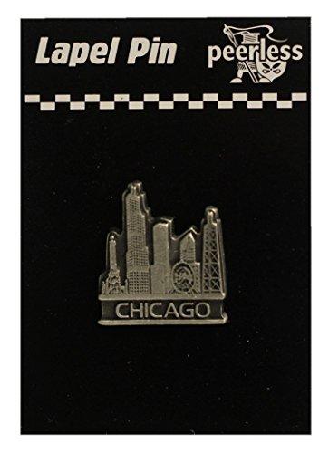 Chicago Mini (Chicago Mini Skyline Lapel Pin)