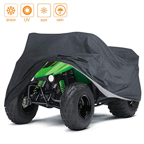 Indeedbuy Waterproof ATV Cover,Large Heavy Duty Bl