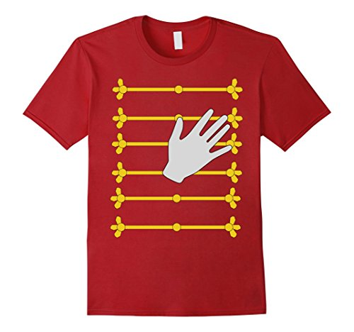 Ideas Music Costume (Mens Pop Star Music Singer Halloween Costume T-shirt 2XL)
