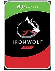 Seagate ST2000VN004 IronWolf Interne Festplatte für NAS-Systeme mit 1 - 8 Bay (3,5 Zoll), 2 TB, silberfarben