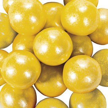 SHIMMER Yellow Gumballs (2 pounds)