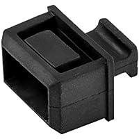 StarTech.com SFP Dust Cover - 10 Pack - Black - SFP Port Cover - Fiber Optic Dust Caps - SFP Plug - SFP Port Dust Cover - SFP Cover
