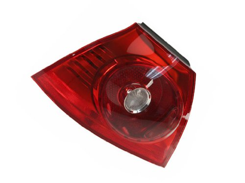 V W (select 06-09 models)t Tail lamp Left Outer by OEM Automotive Lighting (Golf Volkswagon Gti Car)
