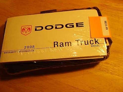 2008 dodge ram truck diesel owners manual dodge amazon com books rh amazon com 2008 dodge ram owners manual download 2006 dodge ram owners manual