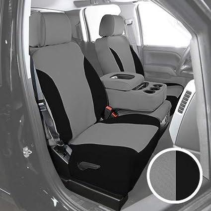 Saddleman 199566-14 SureFit Black//Grey Neoprene Seat Cover