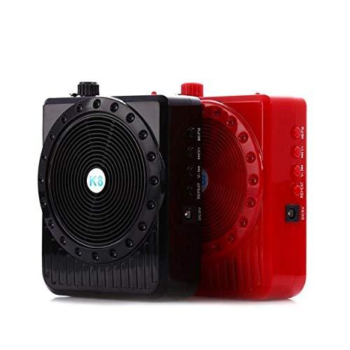 YOOJOP Fashion Mini Portable Loudspeaker Microphone Amplifier Megaphone for Teaching Guide Produced by YOOJOP (Color : Red)