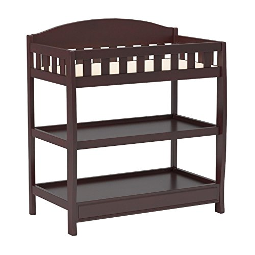 Delta Children Infant Changing Table with Pad, Espresso Cherry by Delta Children (Image #4)