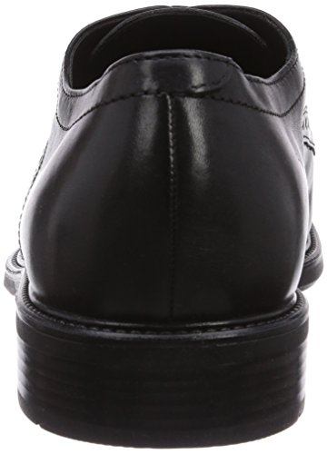 Geox U Carnaby, Men's Derby Schwarz (Blackc9999)