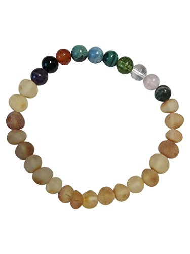 Pregnancy Amber Jewelry by Umai: Relieves Indigestion, Heartburn, Stress and Anxiety Naturally (Bracelet 7 inch)