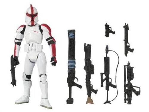 Star Wars Clone Wars Saga Legends Action Figure SL No. 12 Clone Trooper Officer (style and colors may -