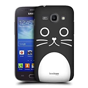 AIYAYA Samsung Case Designs Catalina The Cat Cartoon Animal Faces Protective Snap-on Hard Back Case Cover for Samsung Galaxy Ace 3 S7270 S7272 S7275