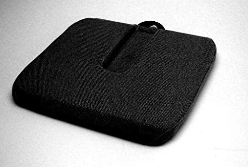 McCarty's Sacro Ease - RC-RX-BLK - Coccyx Relief Cutout Car Seat Cushion - Black - Width - 19 in. ()