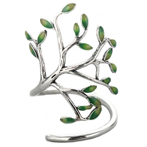- Helen de Lete Innovative Life Tree Sterling Silver Open Ring
