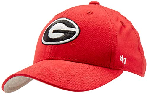 '47 NCAA Georgia Bulldogs Basic MVP Adjustable Hat, Toddler, Red