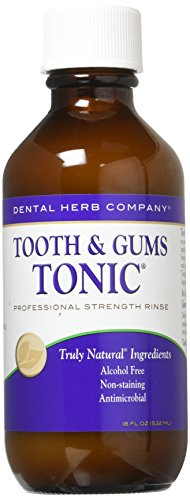 (Dental Herb Company Tooth and Gums Tonic 18oz Bottle)