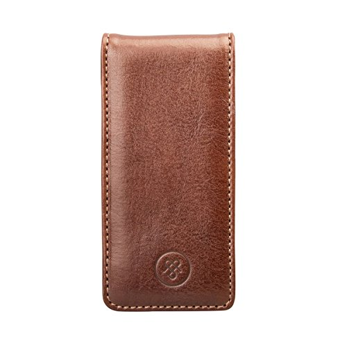 Maxwell Scott¨ Luxury Iphone 5/5s Leather Flip Case for Cell Phone (Renato)