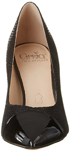 Caprice 22407, Zapatos de Tacón para Mujer Negro