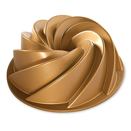 Nordic Ware 80677 Heritage Bundt Pan, One, Gold ()