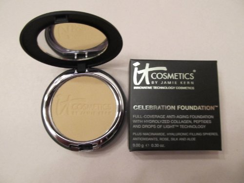 It Cosmetics Celebration Foundation Light (Previously Light Medium) New in Box .30 Ounces
