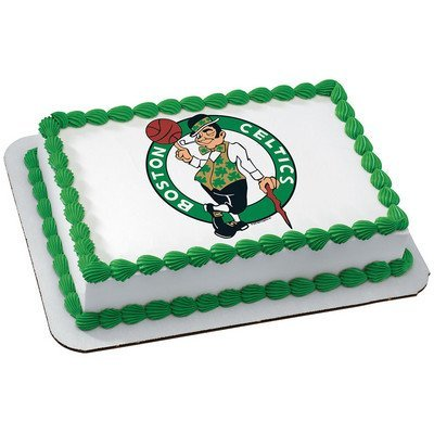 Amazon Boston Celtics Licensed Edible Cake Topper 4767
