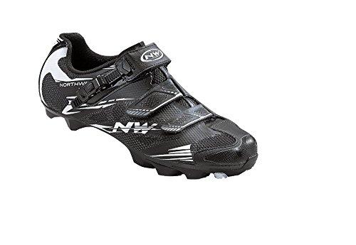 Northwave SCORPIUS 2 Chaussures SRS VTT, noir et blanc
