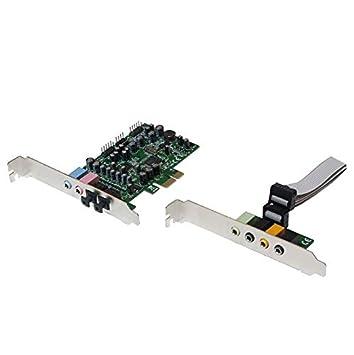 LogiLink PC0076 Tarjeta de Audio Interno 7.1 Canales PCI-E ...