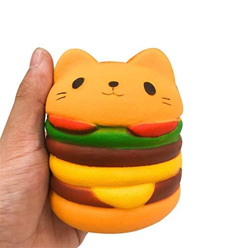 TRETRI New Wholesale Slow Rising Jumbo Kid Toys Animal Slow Rising Phone - Toys Kids Pully Pug