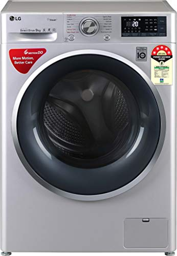 LG 9 Kg 5 Star Inverter Wi-Fi Fully-Automatic Front Loading Washing Machine (FHT1409ZWL, Luxury Silver, Steam) 2021 June Fully-automatic front load washing machine: best wash quality, energy and water efficient Capacity 9 kg: Suitable for large families Energy Rating 5 Star: Best in class efficiency