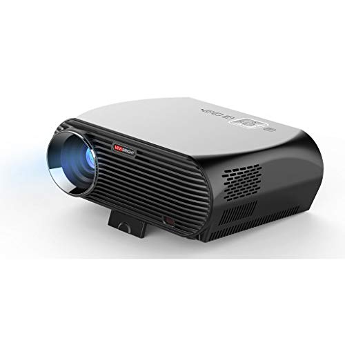 Wangcheng tyy Portable Mini Projector 3500 Lumens HD for Home Theater, Movies and Video Games, Screen Ratio 16:9/3:4, Resolution 1280x800, Voltage:110-240v