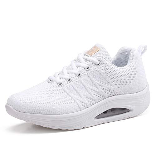 Shoes Moda colore Woven B cut New 2018 Donna Sneakers Dimensione Lace Scarpe Summer yanjing Donna up He Low 39 Un Da Sport The w408UqHOxn