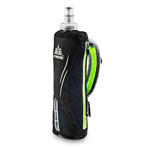 Lovtour Quick Shot Handheld Hydration Pack With 500ml BPA Free TPU Water Soft Flask (Orange)