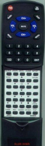 Replacement Remote Control for MAGNAVOX ZC352MW8, NB553UD, ZC350MS8, ZC352MW8B, NB553UD