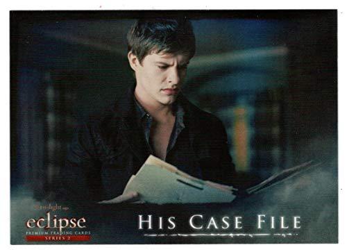 (His Case File (Trading Card) The Twilight Saga - Eclipse Series 2-2010 NECA # 113 - Mint)