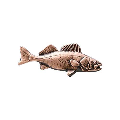 Peint à la main ~ ~ poissons de truite Arc-en-ciel Squelette Pin's (épinglette/Broche ~ fp112pr
