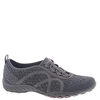 Skechers Sport Women's Breathe Easy Fortune Fashion Sneaker,Charcoal Knit,7 M US (B01HT8YC9K) | Amazon price tracker / tracking, Amazon price history charts, Amazon price watches, Amazon price drop alerts