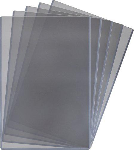 Postcard Holders Sleeves - BCW (5) 13 X 19 Topload Holders - Rigid Plastic Sleeves Brand