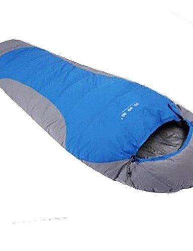 Schlafsack Mumienschlafsack Einzelbett(150 x 200 cm) -15? Enten Qualitätsdaune 1500g 215X80 Camping warm halten Gazelle Outdoors