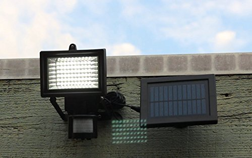 Solar Panel Outdoor Lights: Amazon.com : Home Lighting Outdoor LED Security Lights with Motion Sensor  and Solar Panel for Wireless Outdoor Lights, Color Black LED Floodlights By  Solar ...,Lighting