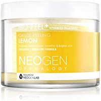 NEOGEN Dermalogy Bio-Peel Gauze Peeling Exfoliating Facial, Leaving Skin Smoother, Brighter and Lighter, Easy To Use, Soft Exfoliating Pads- 200ml (30 Pads) (Lemon)