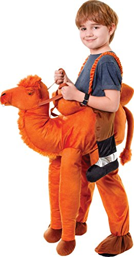 Boy's Desert Animal Panto Fancy Dress Party Outfit Step In Riding Camel Costume (Riding Camel Costume)