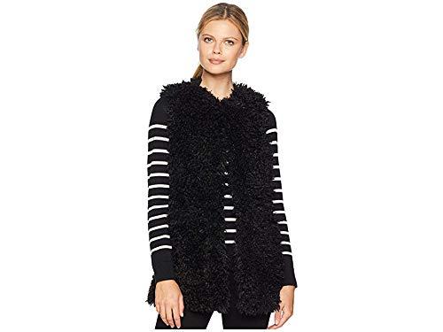 UGG Women's Farrah Faux Fur Vest Black Medium]()
