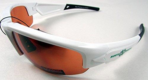 Maxx HD Licensed DYNASTY Sunglasses NCAA NORTH DAKOTA Fighting Hawks White - Sunglasses Dakota