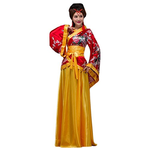 Ez-sofei Women's Ancient Chinese Traditional Hanfu Dress Han Dynasty Cosplay Costume (M,